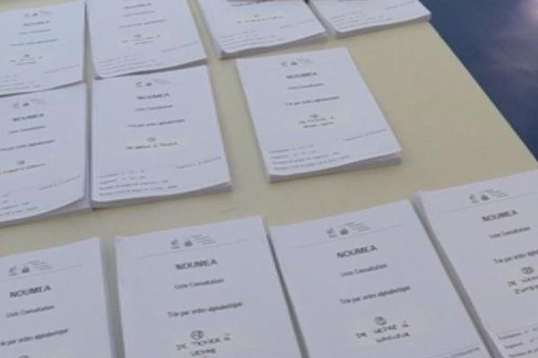 liste referendaire affichage