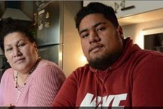 Fiuesa FILIKESA, 18 ans, miraculé d'un accident de la route en 2016