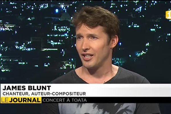 James Blunt à Tahiti