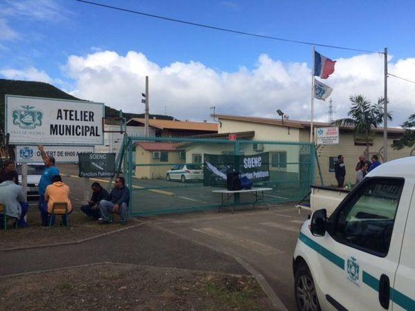 Soenc fonction publique. Ateliers municipaux Nouméa