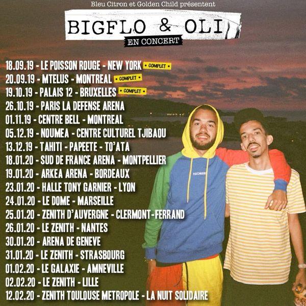 Tournée 2019 de Bigflo et Oli