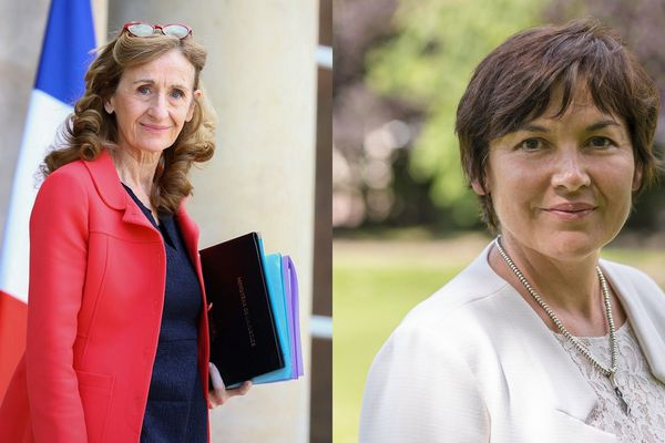 Nicoles Belloubet et Annick Girardin