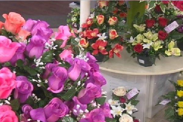 Fleurs et bouquets de la Toussaint