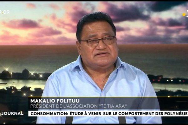 """Invité du journal : Makalio Folituu, président de l'association """"Te Tia ara"""""""