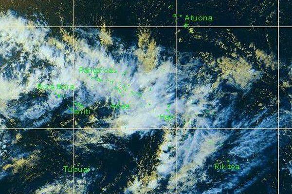 Vigilance jaune pour les orages sur les Tuamotu
