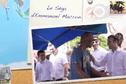 """Découvrez le """"Séga Macron"""" avant son arrivée à La Réunion"""