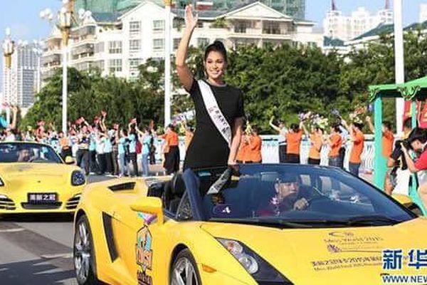 Hinarere Taputu, Miss World France, choisie pour représenter l'Europe