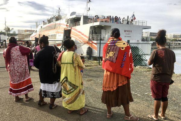 Coronavirus, rapatriement de Maréens par Betico, avril 2020