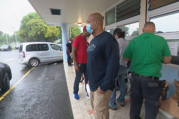 Grève à la prison de Baie-Mahault 2