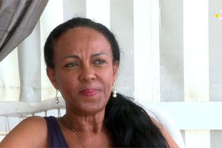 Murielle Mas mère de l'artiste Kalash