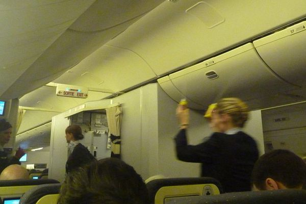 aérosol avion