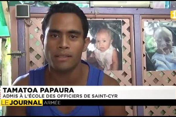 Un polynésien à Saint-Cyr