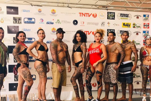 les candidats au titre de Miss et Mister Tatau 2019
