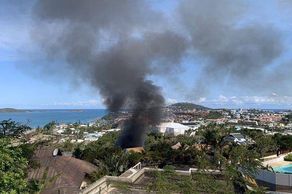 incendie Sainte-Marie