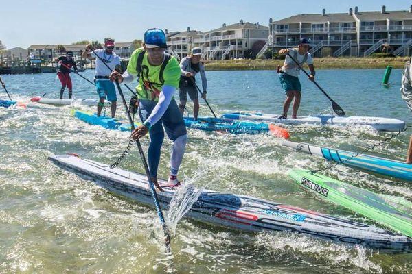 Stand-up paddle: Carolina Cup