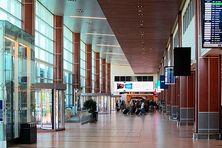 Le hall de l'aéroport de Halifax Stanfield.