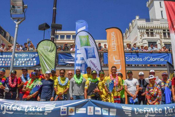 ATN remporte la 10e Vendée Va'a