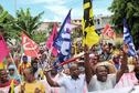 Grève générale à Mayotte : des centaines de personnes manifestent contre l'insécurité