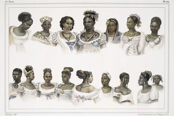 Esclaves de différentes nations