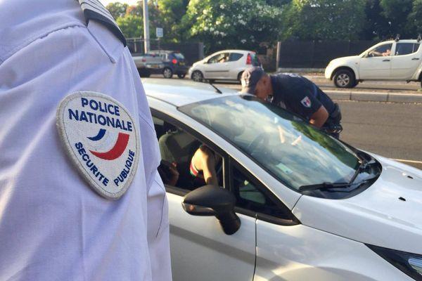 police contrôle