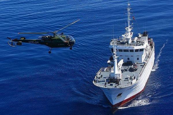 Victory et alouette de l'île Maurice exercice Phoenix
