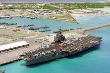 La base américaine de Diego Garcia aux îles Chagos