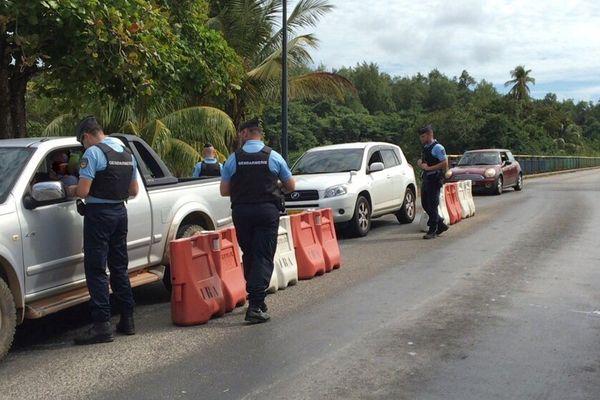 Saisie de drogue au barrage d'Iracoubo