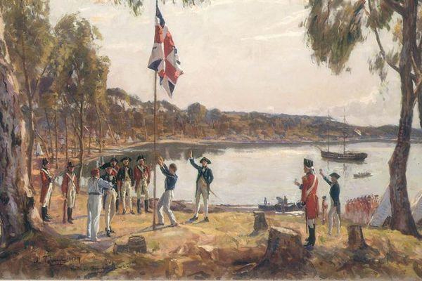 Le débarquement de janvier 1788.