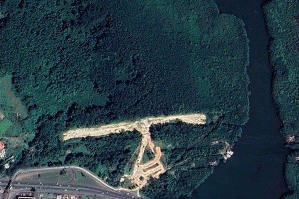 Zone de la piste Supermotard