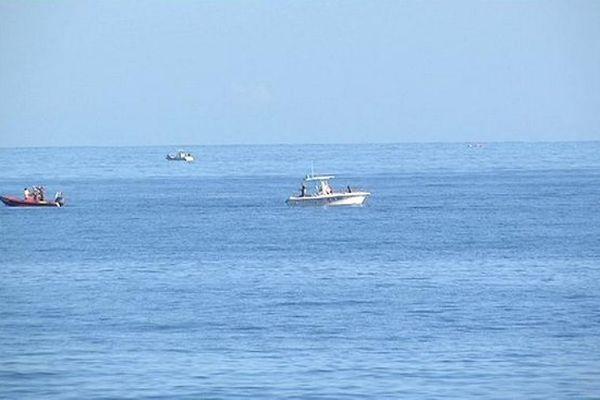 Bateaux secours en mer