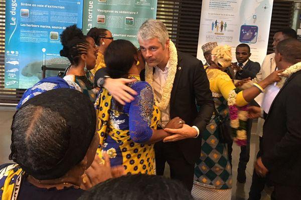 Laurent Wauquiez à Mayotte