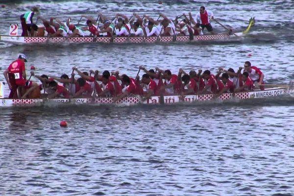 Une course de dragon boat pour attirer davantage de touristes chinois