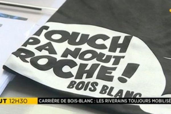 Touch Pa Nout Roche carrière Bois Blanc