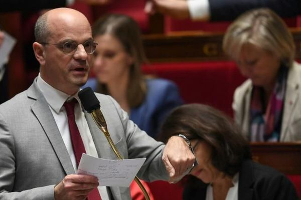 Jean-Michel Blanquer à l'Assemblée