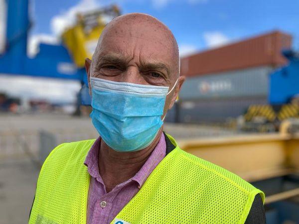 Philippe Lemoine, directeur du Grand Port Maritime de Guyane