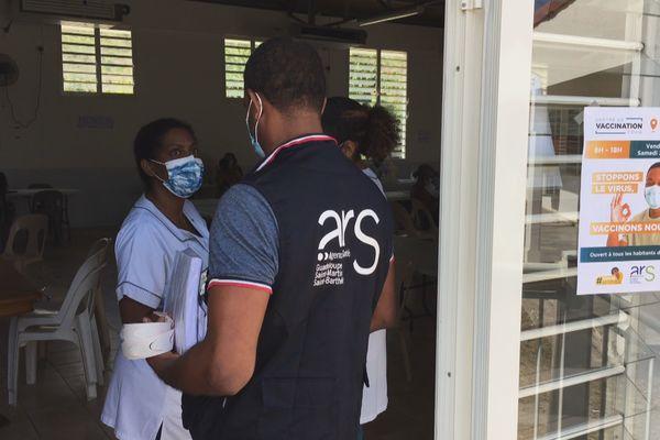 Campagne de vaccination à La Désirade (21 et 22/05/2021)