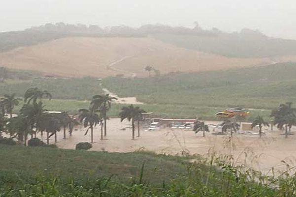 Inondations au François