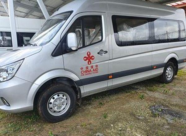 Véhicule offert par la Chine au Vanuatu