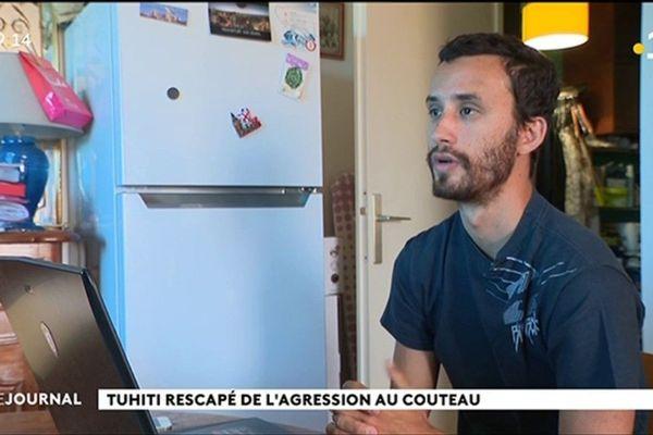 « Il voulait tuer » déclare Tuhiti, victime de l'attaque au couteau à Paris