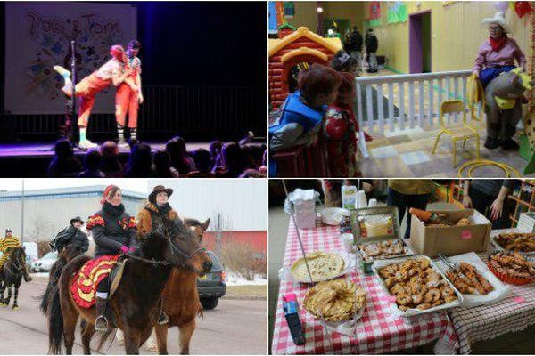 Au programme de ce Mardi gras: spectacle, défilé à cheval et plein d'autres animations