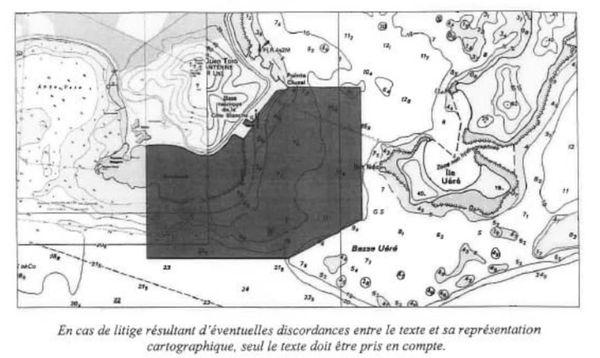 Zone d'interdiction de navigation et baignade
