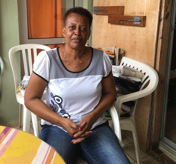 Agnès, habitante de Concordia Saint-Martin