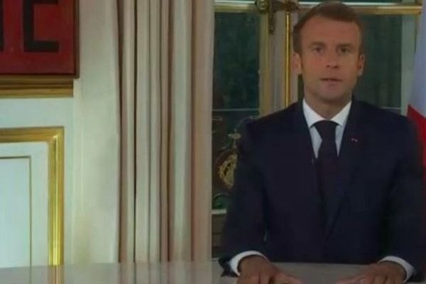 Emmanuel Macron après l'annonce du nouveau gouvernement