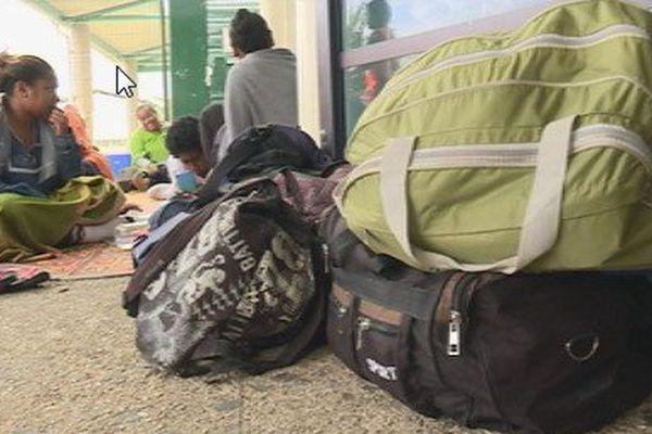 Aérodrome de Magenta : des passagers en attentes