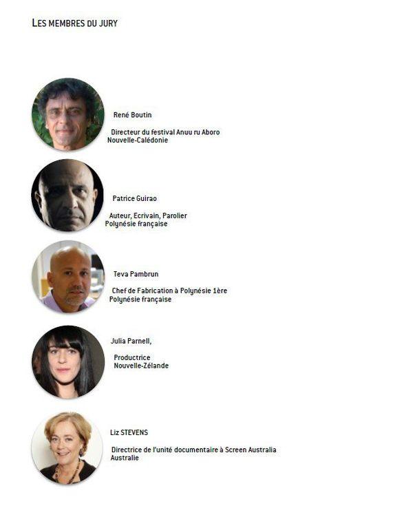 Membres du jury FIFO