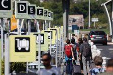 Aéroport Roland Garros, à La Réunion.
