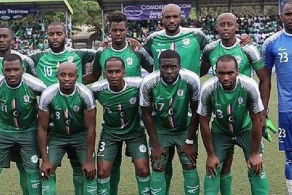 Equipe de fooball des Comores 2019