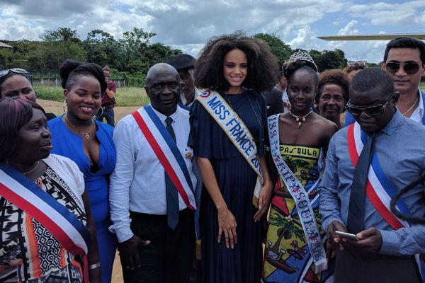 Miss France à Maripasoula