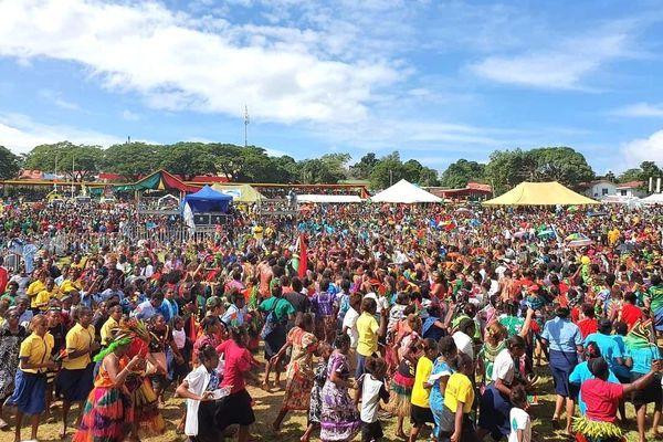 40 ans de l'indépendance du Vanuatu, journée des enfants à Efate, Port-Vila, 24 juillet 2020