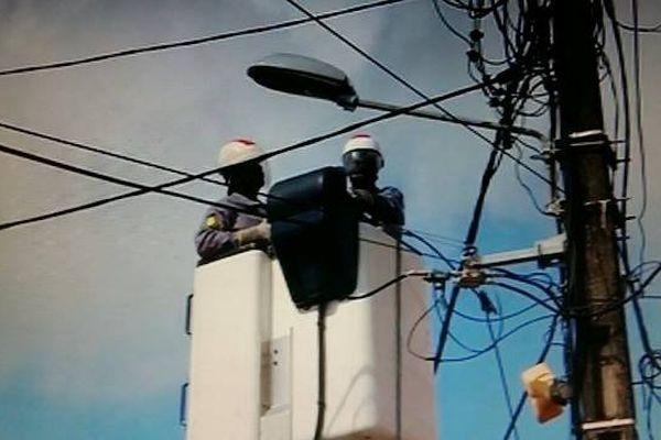 Enfouissement des lignes électrique